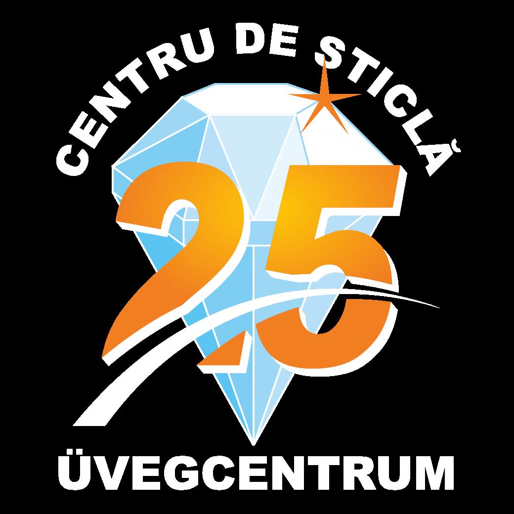 Centru de sticlă – Üvegcentrum Logo